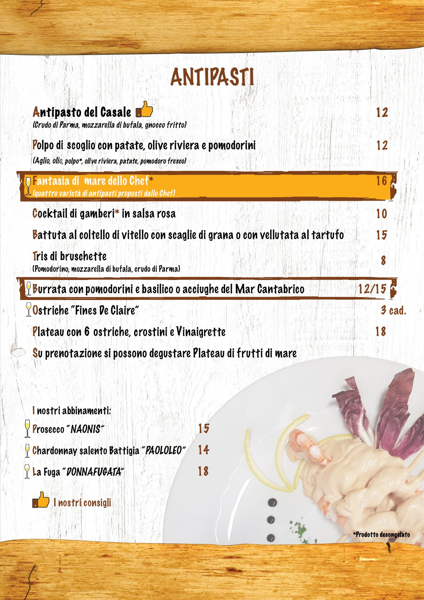 Antipasti menù casale 93-4